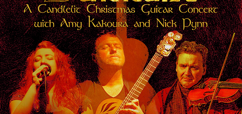RICHARD DURRANT CANDLELIT CHRISTMAS CONCERT WITH AMY KAKOURA & NICK PYNN